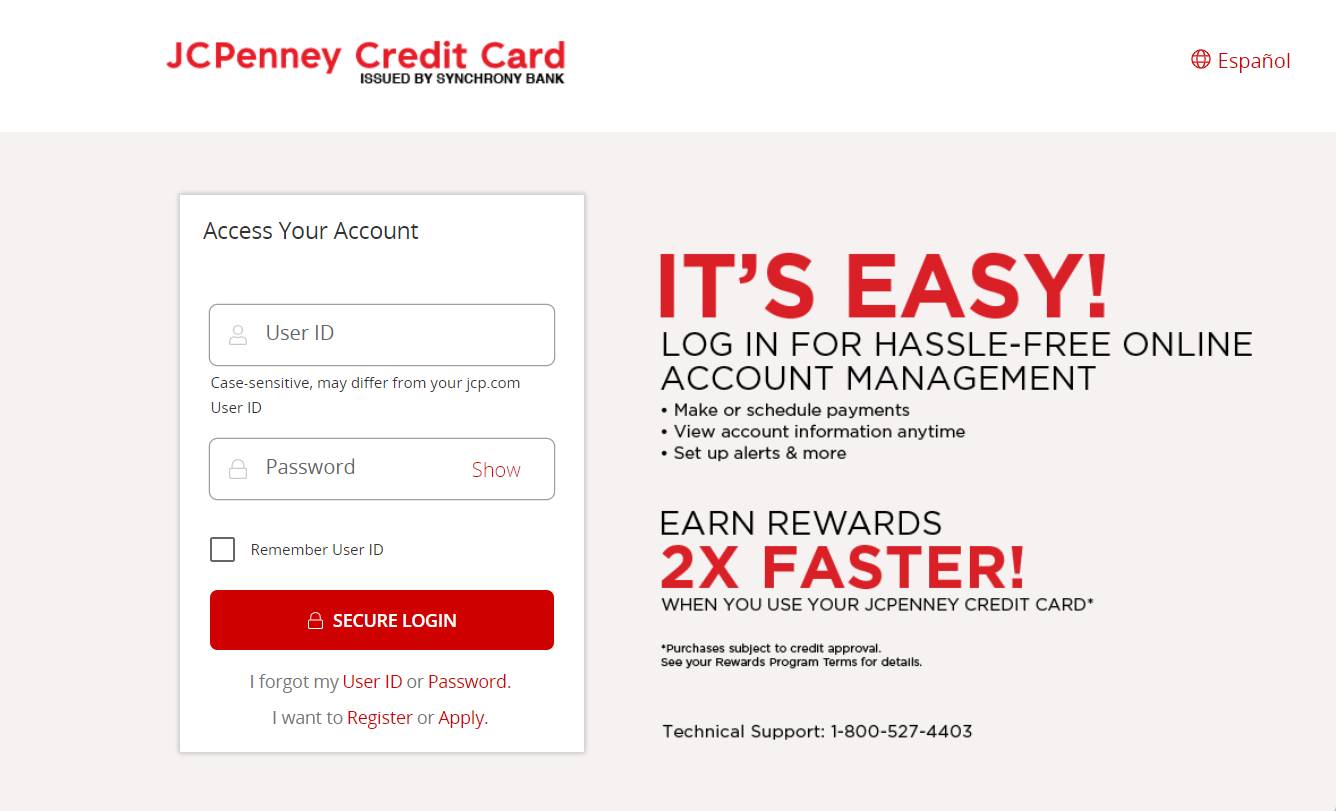 jcpenney bill pay